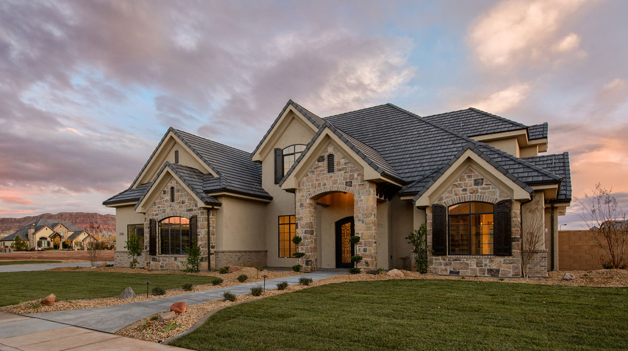 Anderson custom homes inc st george utah builder for Tradition home